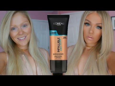FIRST IMPRESSIONS FAIL?! LOREAL PRO GLOW FOUNDATION