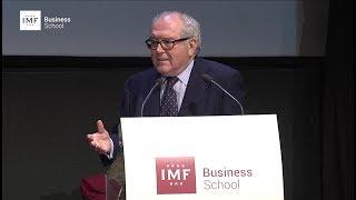 Graduación IMF – Discurso de Eduardo Serra