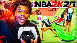 MY FIRST NBA 2K20 PARK GAME ON PS5 WAS UNFORGETABLE! (NBA 2K20)