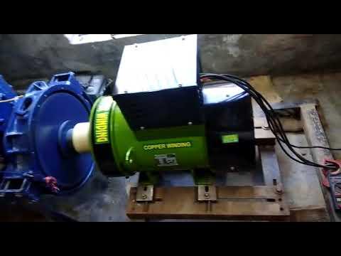 Single Bearing Electric Alternator