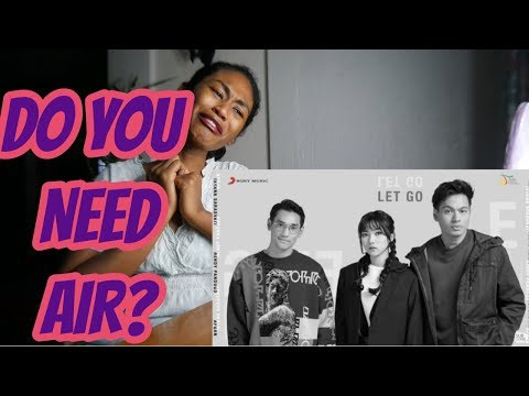 Afgan, Isyana Sarasvati, Rendy Pandugo - Never Let Go | Official Video Lirik | Reaction - Rukia Dagtan