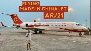 Flying the Made in China Jet – ARJ21-700!