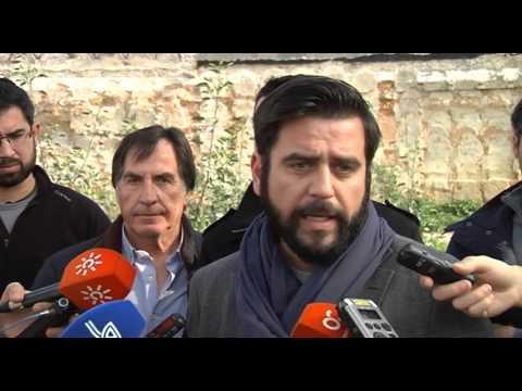 Diputación colabora en la exhumación de represaliados del franquismo en el antiguo cementerio de San José, en Cádiz