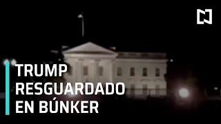 Trump fue resguardado en búnker tras protestas por asesinato de George Floyd - Despierta