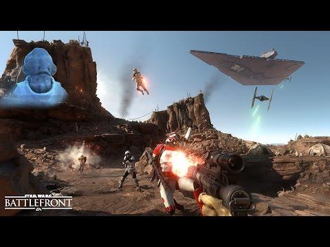 Star Wars - Battlefront по сети / KVEZAL