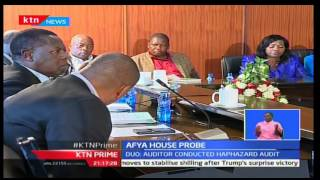 KTN Prime: Health CS Cleopa Mailu joined his PS Nicholas Muraguri before the PAC, 10/11/16
