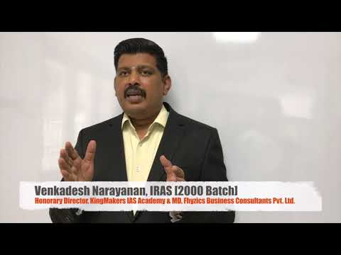 Civil Service Success Mantra by Mr.Venkadesh Narayanan IRAS