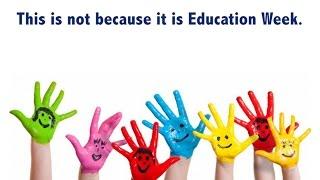 Education Week is Every Week