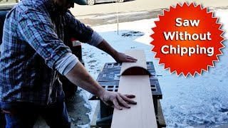 How to Saw Plywood Lauan Without Chipping or Splintering