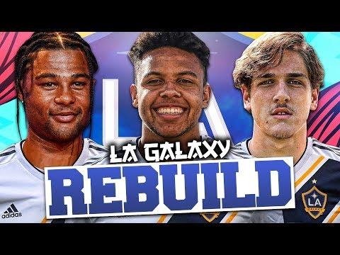 REBUILDING LA GALAXY!!! (In Europe) FIFA 20 Career Mode