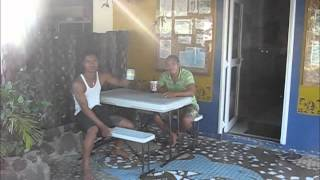 preview picture of video 'Jon & Deb's cycle ride to work at Dive Savaii'