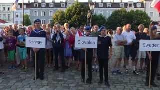 preview picture of video 'EFOL 2013 Wejherowo Poland,  XX Mistrzostwa Europy Leśników w Biegu na Orientację'