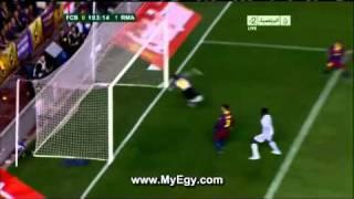 هدف تاريخي لرونالدو في نهائي كأس ملك أسبانيا ومباراة برشلونة x ريــال مدريد