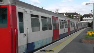 preview picture of video 'An A Stock Train Calls At Preston Road station.'