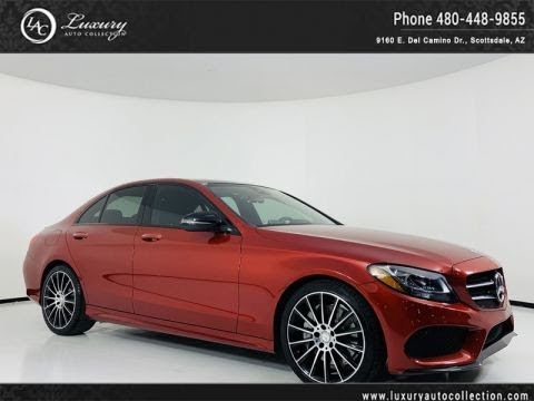 Pre-Owned 2016 Mercedes-Benz C-Class C 300 Sport RWD