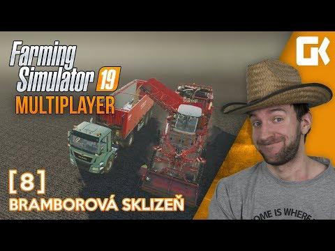 BRAMBOROVÁ SKLIZEŇ! | Farming Simulator 19 Multiplayer #08