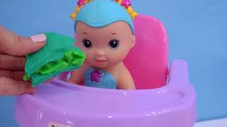 Русалка Воды Ребенка Близнецов! Няня Мербаби С Американской Куклой