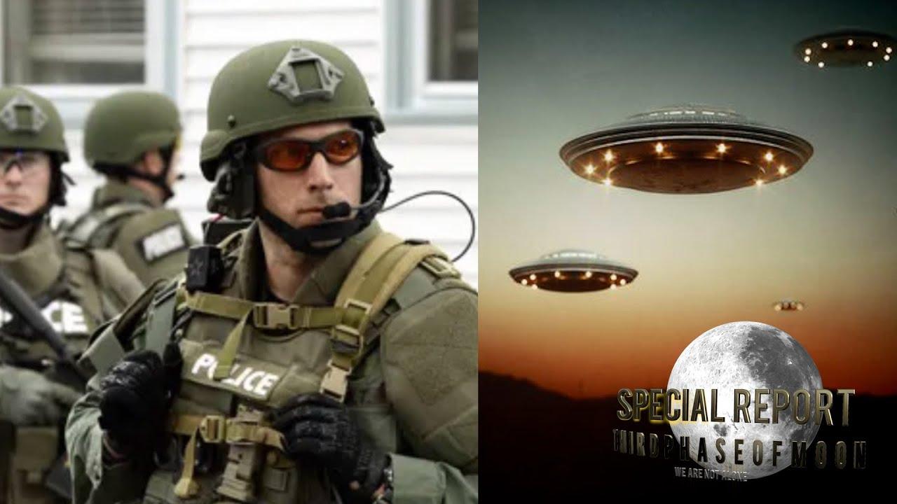 L.A. Swat Team Members Capture Fleet Of UFOs Over Los Angeles! 2020
