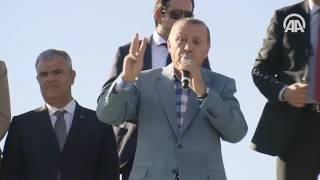Cumhurbaşkanı Erdoğan: Bu milletin huzuruna kimse el atamayacak