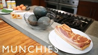 Emu Eggs Benedict with Alvin Cailan and Jay Mewes: Fat Prince