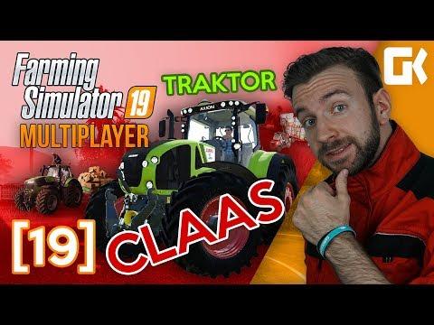 TRAKTOR CLAAS! | Farming Simulator 19 Multiplayer #19
