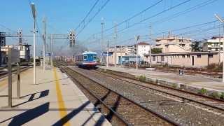 preview picture of video 'Aln 668 113 Metrocampania Stazione di Aversa'