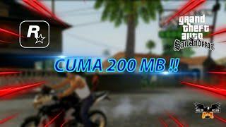 CUMA 200 MB !! GTA SAN ANDREAS Cocok Untuk Hp 1 GB/512 MB Ram !!