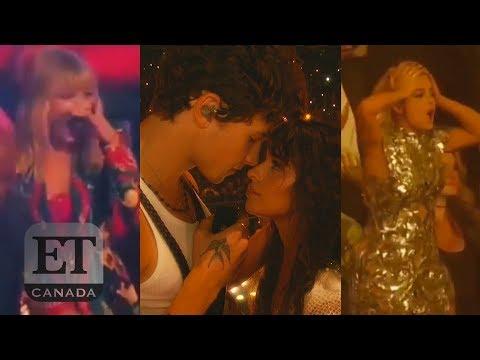 Taylor Swift, Jonas Bros React To Shawn Mendes, Camila Cabello's 'Senorita' Performance