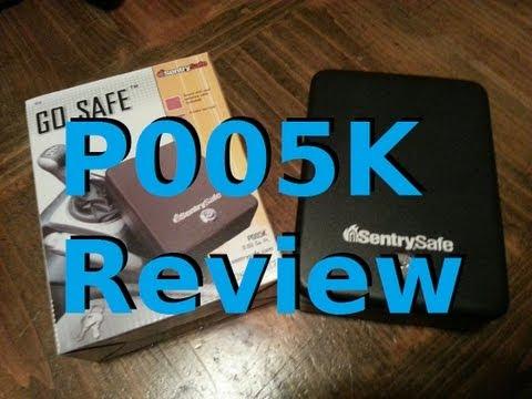 """SentrySafe """"Go Safe"""" Portable Car Safe Review, P005K"""