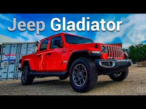 Jeep Gladiator, una pick up 100% todo terreno