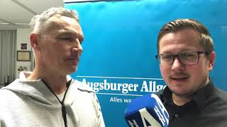 Der FCA-Talk: Manager Stefan Reuter hält weiter an Trainer Manuel Baum fest