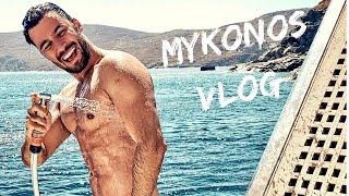 Mykonos Vlog   Greece Summer 2019. pt.1  Dean Pelić