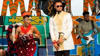 Yemi Alade - Kom Kom ft. Flavour (Behind The Scenes)
