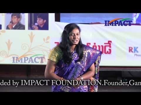 Self Love |Kavitha|TELUGU IMPACT Hyd August 2016
