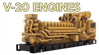 6 V-20 Engines You May Not Know About
