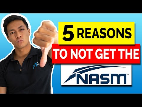 5 Reasons Why You Should NOT Get The NASM CPT Certification ...