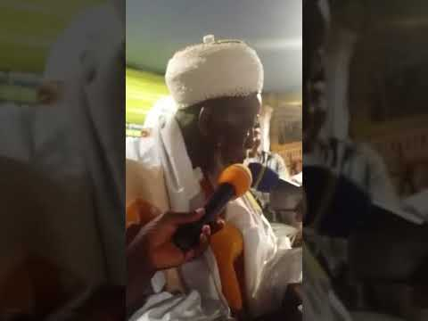 The Chief Imam of Ghana speakshj