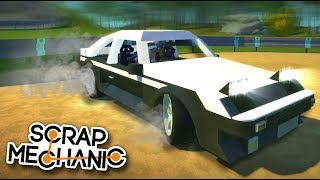 DEJA VU! I've just been in this place before! AE86 Trueno - Scrap Mechanic Creations! - Episode 178