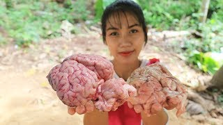 Yummy cooking soup brains cow recipe - Cooking skill