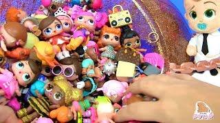#LOL Dolls КУКЛЫ ЛОЛ МОЯ КОЛЛЕКЦИЯ BOSS BABY Босс Молокосос #Пупсики #Сюрпризы Распаковка Игрушек фото