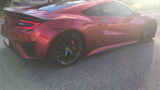 2017 Acura NSX with Science Of Speed Down Pipes. 0-60 mph | Kholo.pk