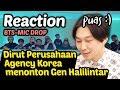 Video Reaksi Dirut Perusahaan Agensi Gen Halilintar Mic Drop