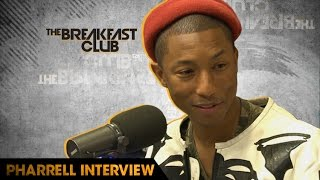 Pharrell Talks Politics, What's Wrong in the Music Business & His New Film 'Hidden Figures'