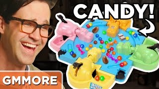 Playing Hungry Hungry Hippos Board Game!