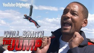 Will Smith Reacts to His 50th Birthday Bungee Jump