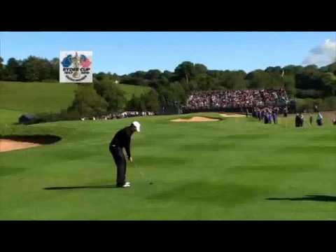 Ryder Cup 2010 Highlights Day 4 at Celtic Manor Resort, Wales.wmv