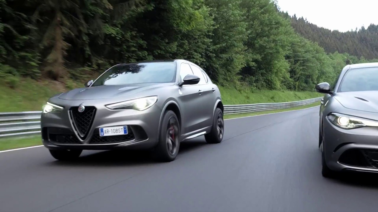 Stelvio and Giulia Quadrifoglio NRING : the Nürburgring record-breaking limited editions.