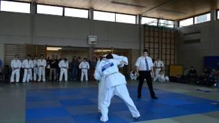 preview picture of video '21. Int. Gallia Turnier in Gallneukirchen (AUT) -73kg Alexander Scholz (1)'