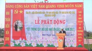 Đồng chí Hoàng Trung Hải dự lễ giao quân và nhận quân tại quận Ba Đình, TP Hà Nội