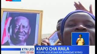 Wenyeji wa Migori washerehekea baada ya Raila kuapishwa kuwa rais watu wa Kenya